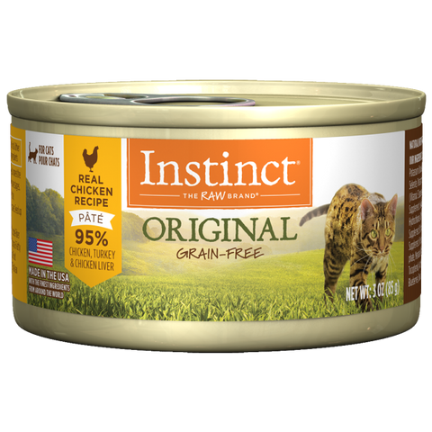 NATURE'S VARIETY INSTINCT CAN: CHICKEN FORMULA 24/CASE