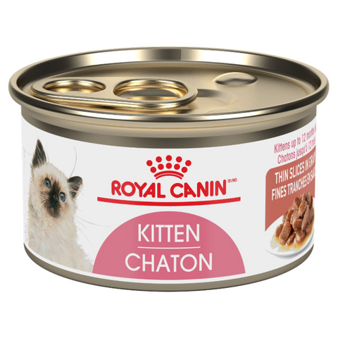 ROYAL CANIN CAN: KITTEN INSTINCTIVE THIN SLICES IN GRAVY CAT 24/CASE