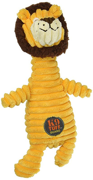 K9 TUFF CHARMING SQUEAKIN' SQUIGGLES LION 10.5""