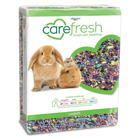 HEALTHY PET CAREFRESH COMPLETE NATURAL PAPER BEDDING CONFETTI 50L