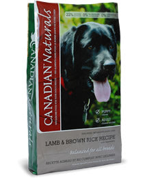 CANADIAN NATURALS LAMB & RICE FORMULA DOG FOOD