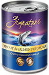 ZIGNATURE CAN: TROUT & SALMON MEAL FORMULA 12/CASE
