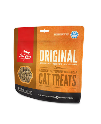 ORIJEN FREEZE-DRIED TREATS: ORIGINAL CAT TREATS