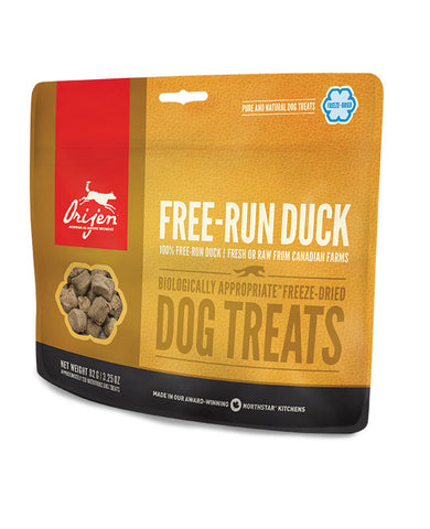 ORIJEN FREEZE-DRIED TREATS: FREE-RUN DUCK