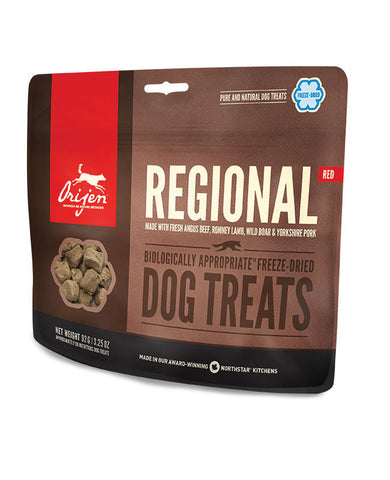 ORIJEN FREEZE-DRIED TREATS: REGIONAL RED