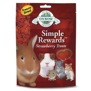OXBOW SIMPLE REWARDS STRAWBERRY TREATS