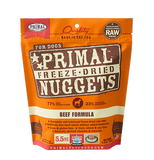 PRIMAL FREEZE DRIED BEEF 5.5OZ
