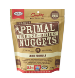 PRIMAL FREEZE DRIED LAMB