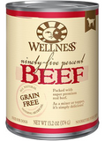 WELLNESS 95% CAN: BEEF RECIPE 12/CASE