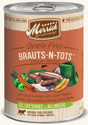 MERRICK CAN: BRAUTS-N-TOTS RECIPE 12/CASE
