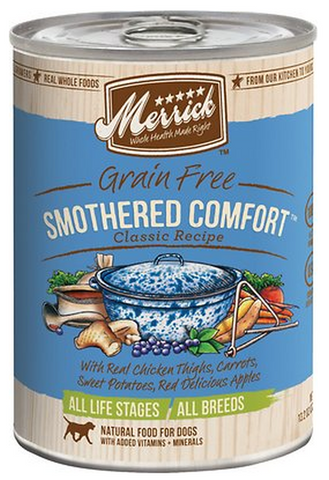 MERRICK CAN: SMOTHERED COMFORT 12/CASE