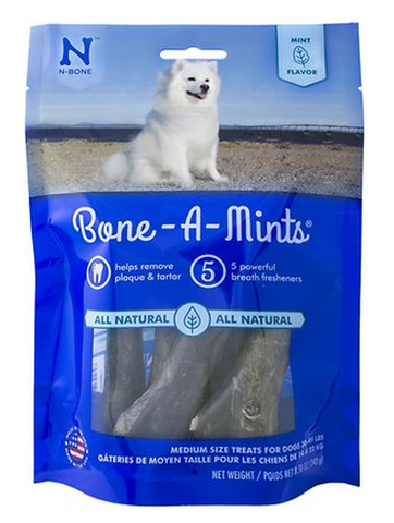 N-BONE BONE-A-MINTS: MEDIUM SIZE 30-49LBS