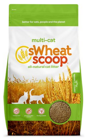 SWHEAT SCOOP ALL-NATURAL CAT LITTER MULTI-CAT