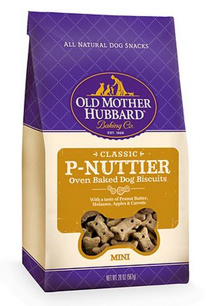 OLD MOTHER HUBBARD CLASSIC P-NUTTER BISCUITS MINI