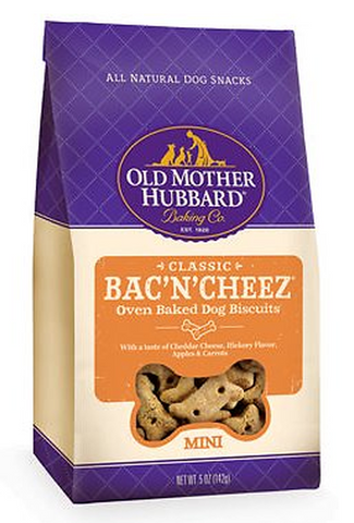 OLD MOTHER HUBBARD BAC'N'CHEEZ BISCUITS SMALL
