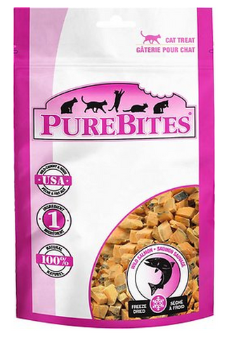 PUREBITES: SALMON CAT TREATS