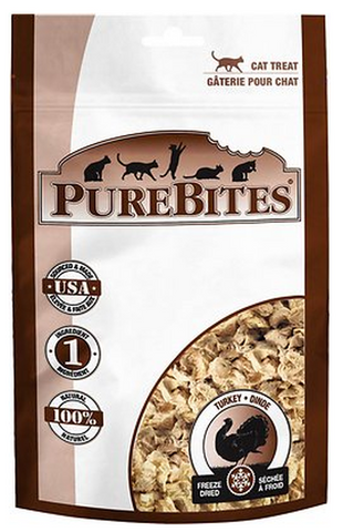 PUREBITES: TURKEY BREAST CAT TREATS