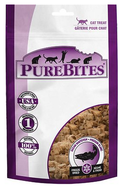PUREBITES: OCEAN WHITEFISH CAT TREATS