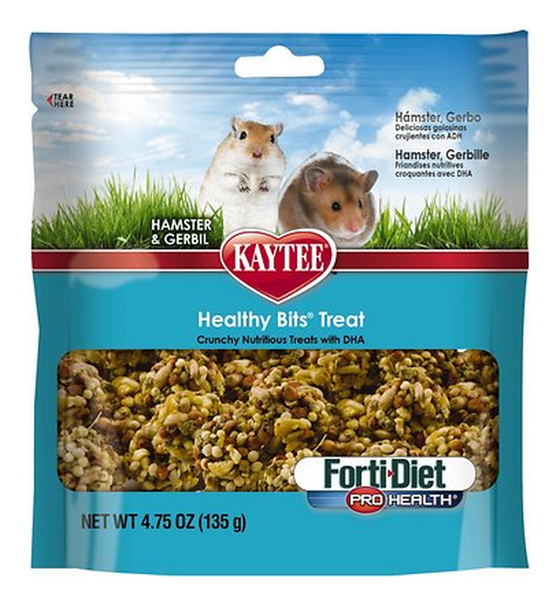 KAYTEE HEALTHY BITS TREAT HAMSTER & GERBIL