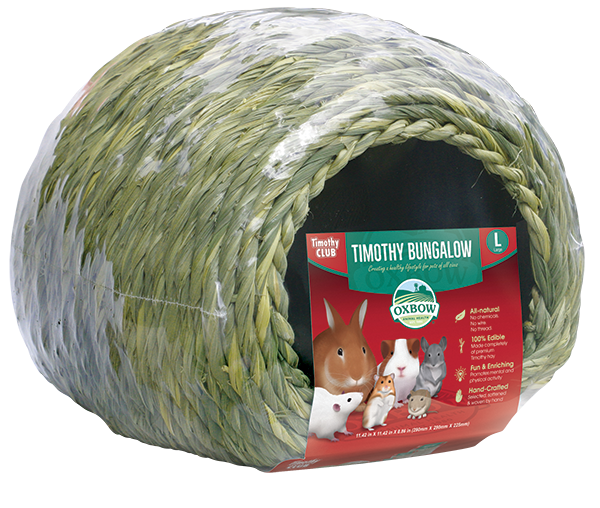 OXBOW Timothy Hay Bungalow Large