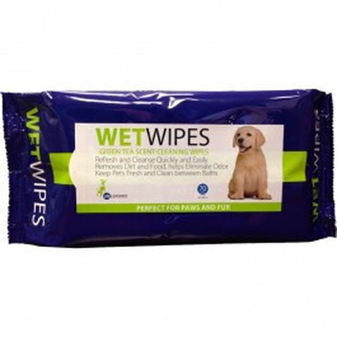 UNLEASHED WETWIPES GREEN TEA SCENT CLEANING WIPES (70 WIPES)