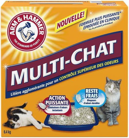 ARM & HAMMER MULTI-CAT CAT LITTER
