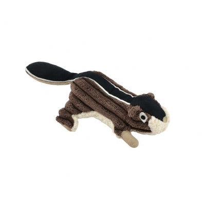 "Tall Tails 5"" CHIPMUNK Plush Dog Toy w/Squeaker"