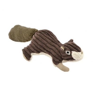 "Tall Tails 12"" SQUIRREL Plush Dog Toy w/Squeaker"