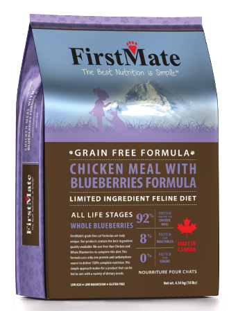 FIRSTMATE CHICKEN MEAL WITH BLUEBERRIES FORMULA CAT