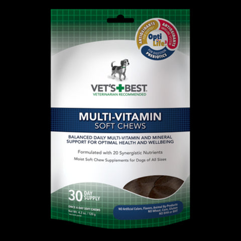 VET'S BEST MULTIVITAMIN SOFT CHEWS