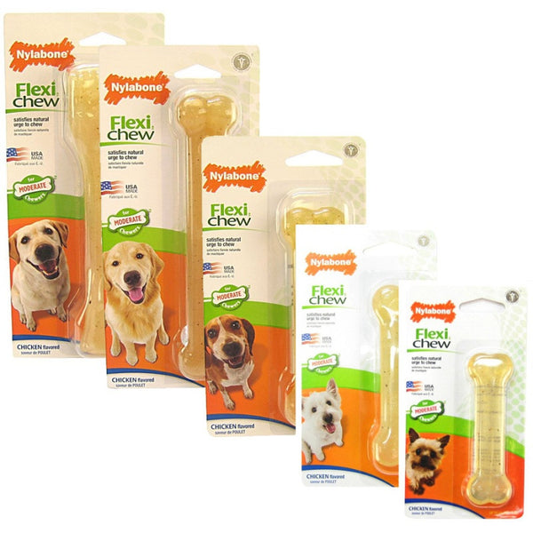 NYLABONE FLEXI CHEW CHICKEN FLAVORED