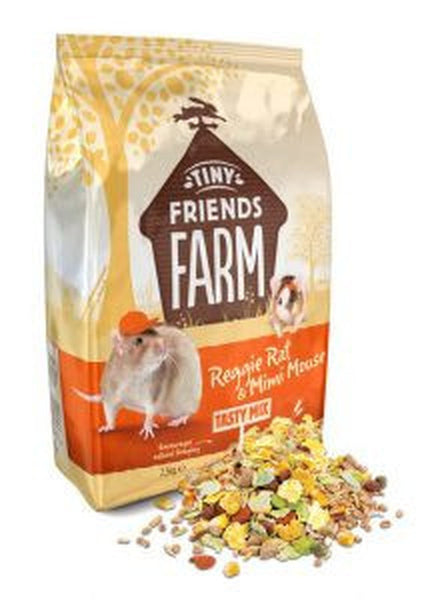 SUPREME TINY FRIENDS FARM REGGIE RAT & MINI MOUSE TASTY MIX