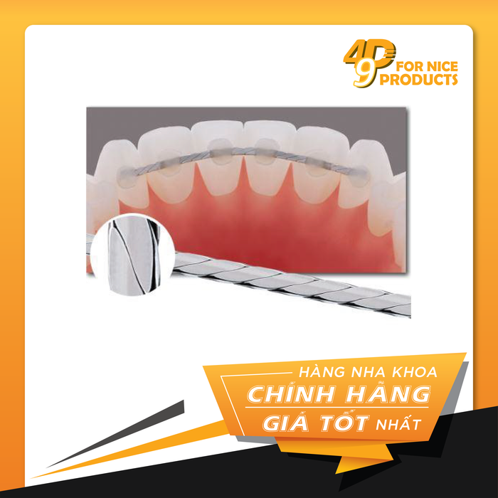 Dây duy trì dẹt Ortho Technology