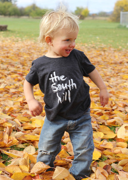 Toddler Logo T-shirt (Charcoal)