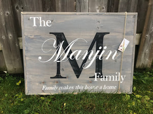 Pallet Style Family Name