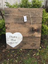 Heart Guest Board - Dylan's Design Shop