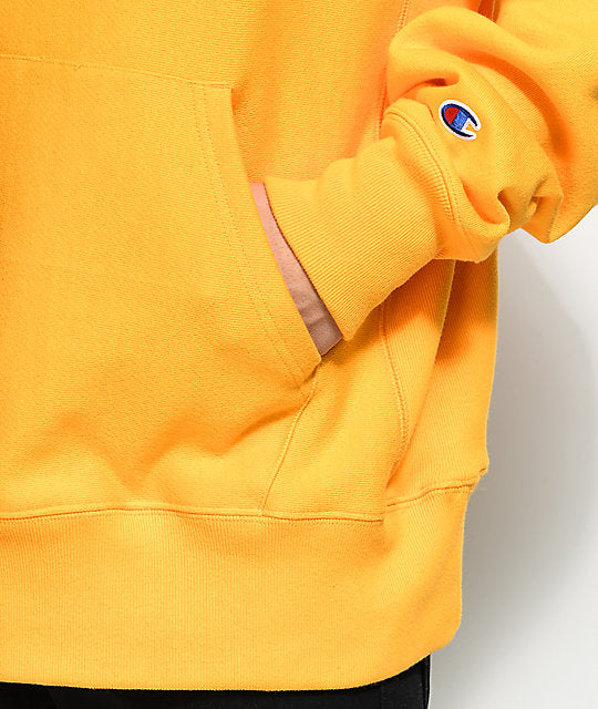 Maricela Cornejo Original Champion® Yellow Hoodie