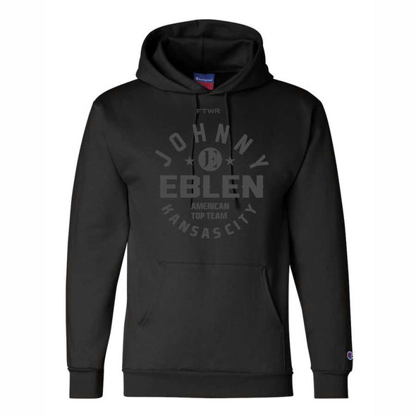 Johnny Eblen Champion® Collection Original Black/Black Hoodie