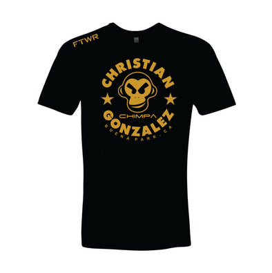 Christian Gonzalez Black/Gold tee