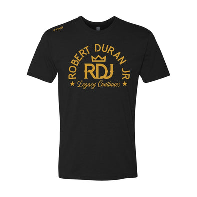 Robert Duran Jr. Black/Gold Tee