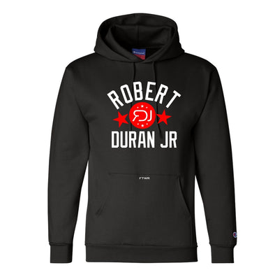 Robert Duran Jr. Original Champion® Black Hoodie