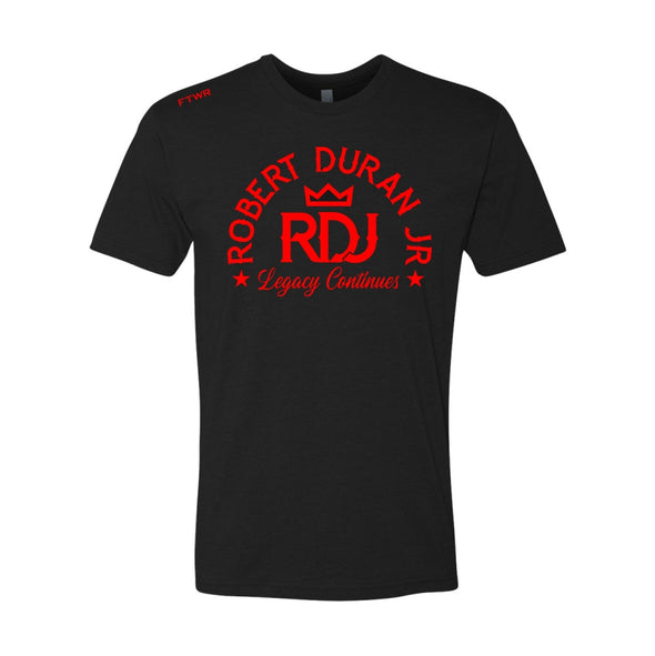 Robert Duran Jr. Black Tee