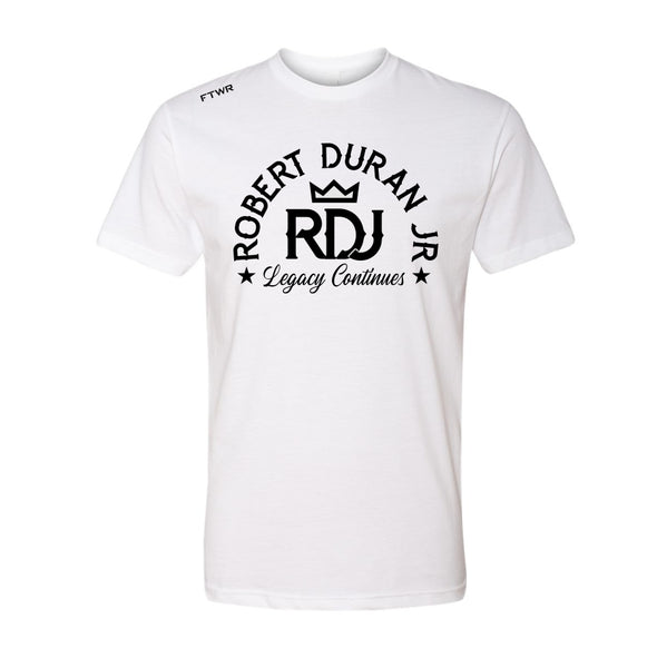 Robert Duran Jr. White/Black FTWR® Tee
