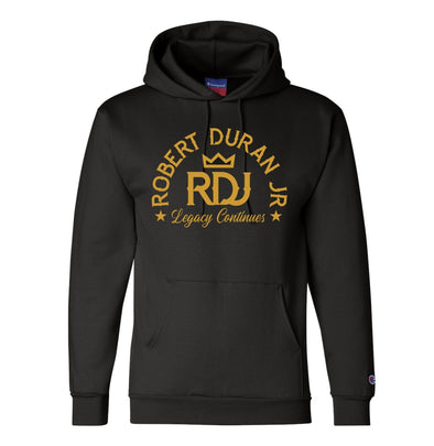Robert Duran Jr. Original Champion® Black/Gold Hoodie