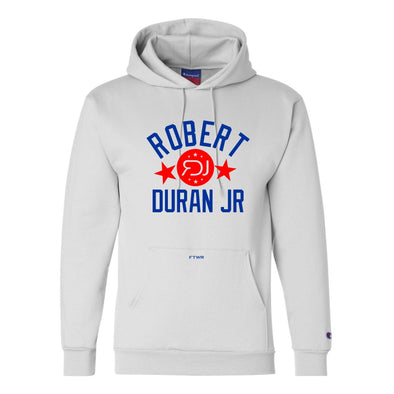 Robert Duran Jr. Original Champion® White Hoodie