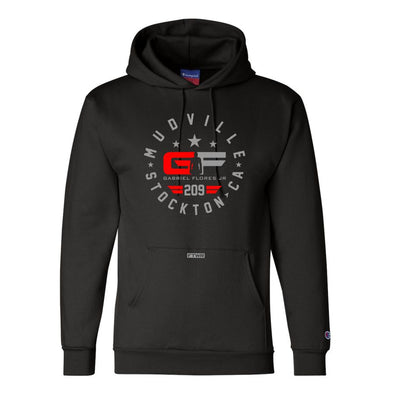 Gabriel Flores Jr Champion® Red/Silver Hoodie