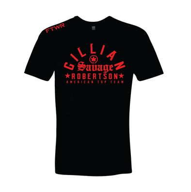 Gillian Savage Robertson Black/Red FTWR® Tee