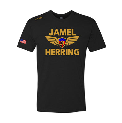 Jamel Herring Black Tee