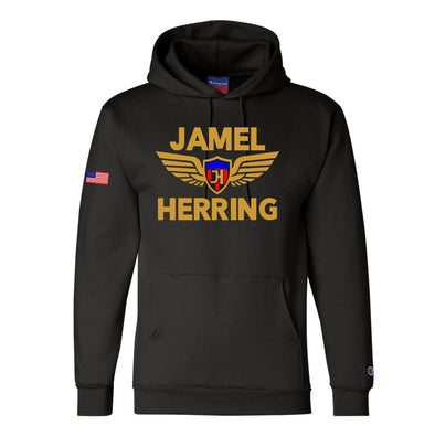Jamel Herring Original Champion® Black Hoodie
