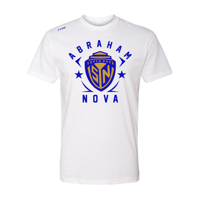 Abraham Super Nova Blue/Gold Tee